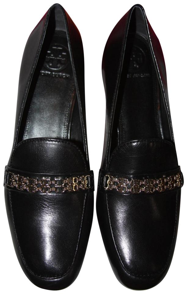 addc44aea Tory Burch Black Gemini Link Loafer Women s M Flats Size US 9.5 ...