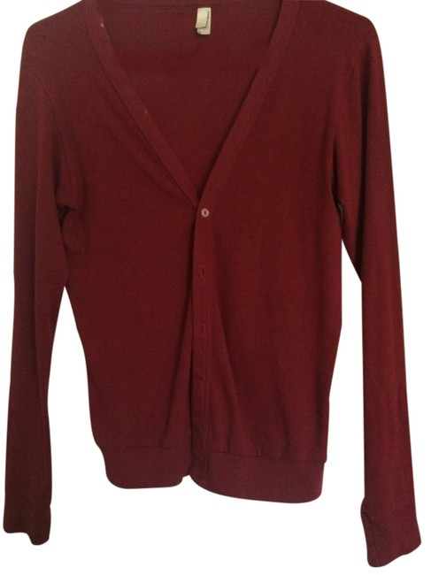 Preload https://item3.tradesy.com/images/american-apparel-red-cardigan-size-2-xs-2312387-0-2.jpg?width=400&height=650