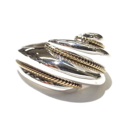 Tiffany & Co. Tiffany & Co. 18k and Sterling Silver Shrimp Ring Image 4