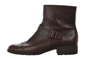 Cole Haan Waterproof Leather Ankle Casual Brown Boots