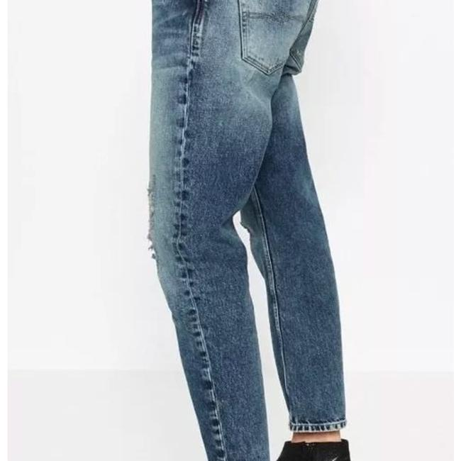 Zara Relaxed Fit Jeans-Distressed Image 1