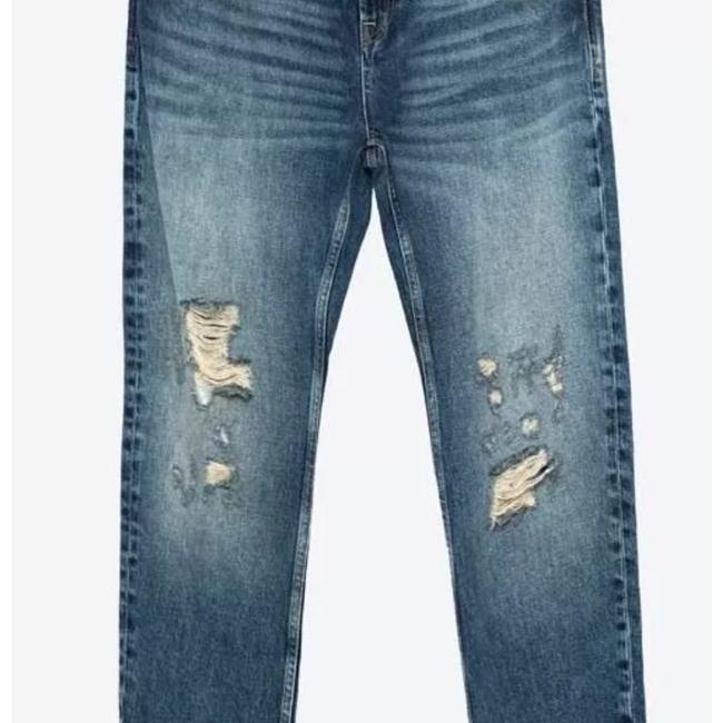 Zara Relaxed Fit Jeans-Distressed Image 2