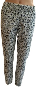 Other Floral Cotton Stretchy Pant Blue heather grey Leggings