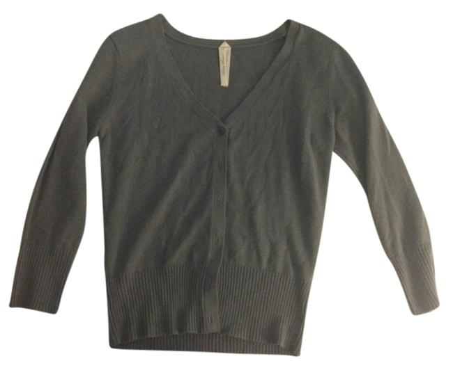 Preload https://item4.tradesy.com/images/charcoal-grey-cardigan-size-8-m-2312453-0-0.jpg?width=400&height=650