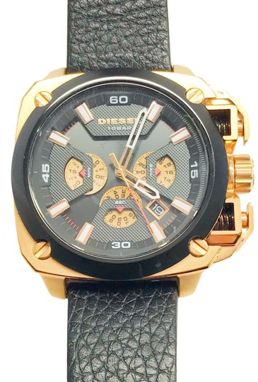 Diesel Diesel Only The Brave Leather Men's Watch Image 0
