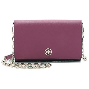 Tory Burch Burgundy Clutch