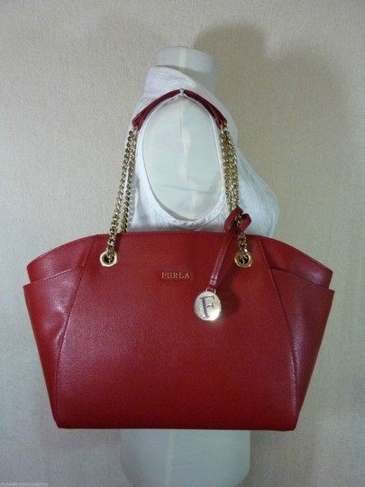 Furla Tote in Red Image 1