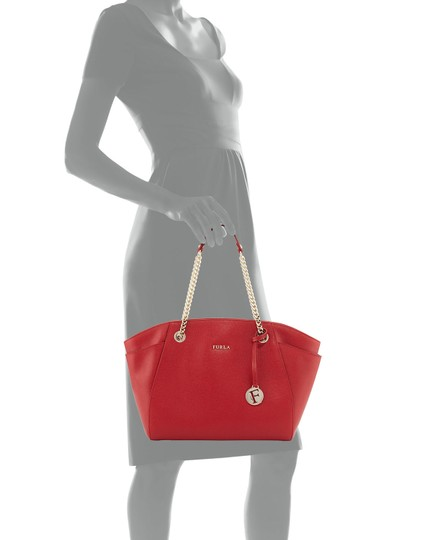 Furla Tote in Red Image 11