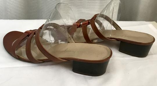 Salvatore Ferragamo Brown Sandals Image 6