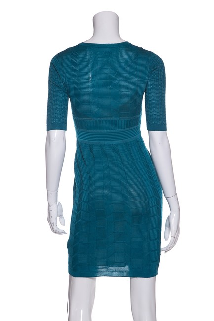 M Missoni short dress Teal on Tradesy Image 2