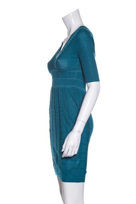 M Missoni short dress Teal on Tradesy Image 3