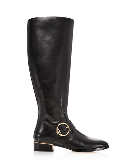 Tory Burch Sofia Riding Tall Metallic Hardware Boots Image 2
