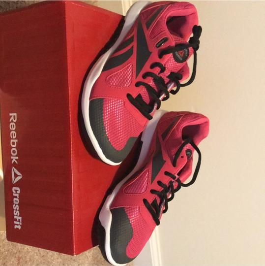 Reebok raspberry and black Athletic Image 1