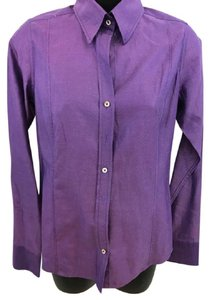 Craig Taylor Button Down Shirt Purple