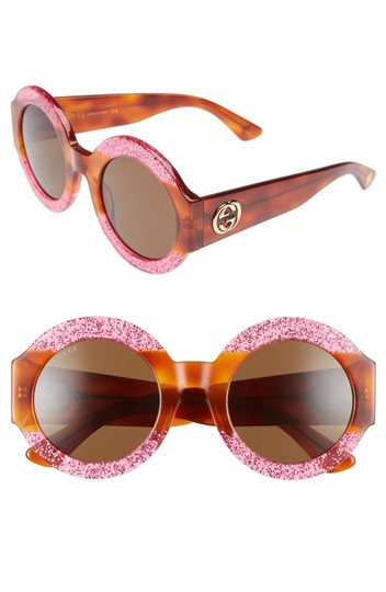 Preload https://img-static.tradesy.com/item/23125025/gucci-fuchsiahavana-brown-gg0084s-003-plastic-round-sunglasses-0-0-540-540.jpg