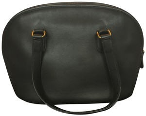 Coach Vintage Leather Leather Satchel in Black