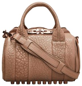 Alexander Wang Tote in nude/ rose gold