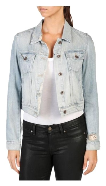 Item - Denim Vivienne Jacket Size 4 (S)