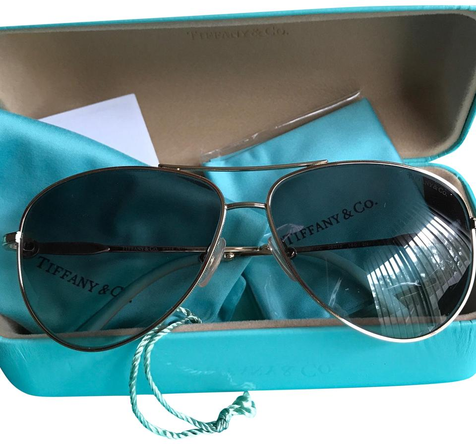 260b0c2a51c6 Tiffany co gold blue new aviator with pearl sunglasses tradesy jpg 960x896 Tiffany  pearl sunglasses