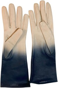 Burberry Burberry Ashfield Ombre Leather Gloves