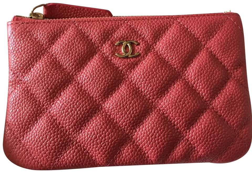 f548d23ac64848 Chanel Unicorn Chanel 2018 Sold Out Pink Caviar Mini O Case/ Pouch Image 0  ...