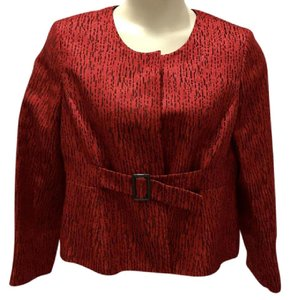 Suit Studio Top Red