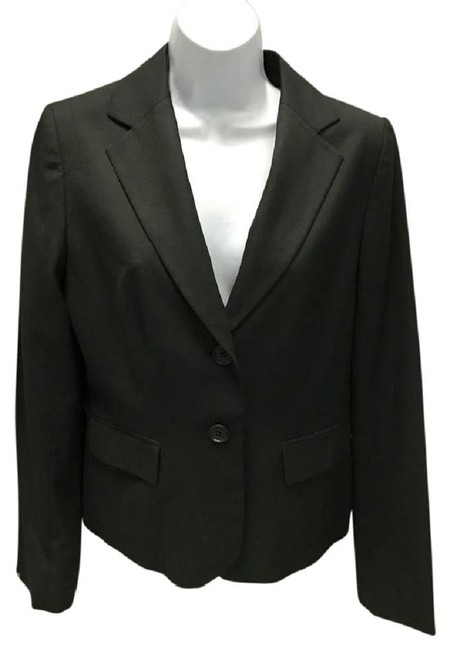 Preload https://img-static.tradesy.com/item/23125509/ann-taylor-loft-black-wool-blend-jacket-blazer-size-8-m-0-0-650-650.jpg