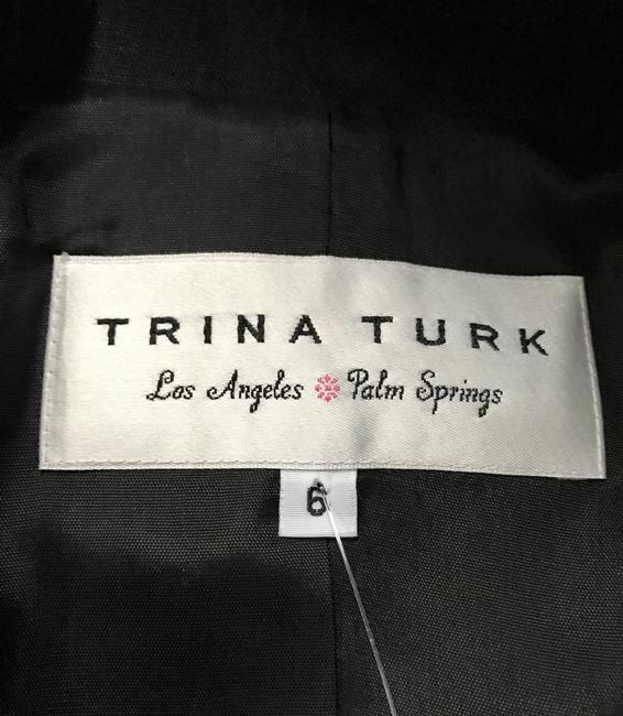 Trina Turk Jacket Top Black Image 5