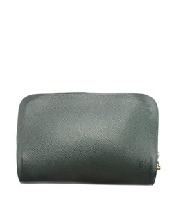 Louis Vuitton Leather Wristlet in Green