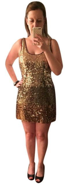 Preload https://item5.tradesy.com/images/express-gold-night-out-dress-size-6-s-2312579-0-0.jpg?width=400&height=650