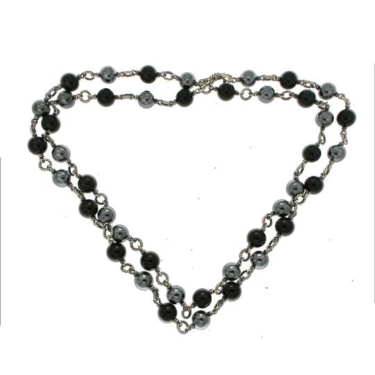 David Yurman David Yurman Tahitian Pearl & Black Onyx Bijoux Necklace Image 1