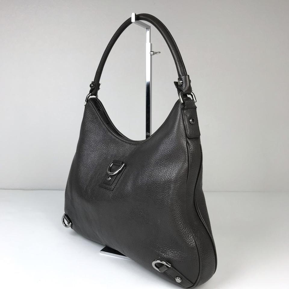 eb9ebfd0c6ef Gucci Abbey Large Brown Leather Hobo Bag - Tradesy