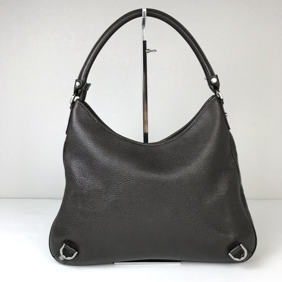 5a8203861cae Gucci Abbey Large Leather Hobo Bag Image 9. 12345678910