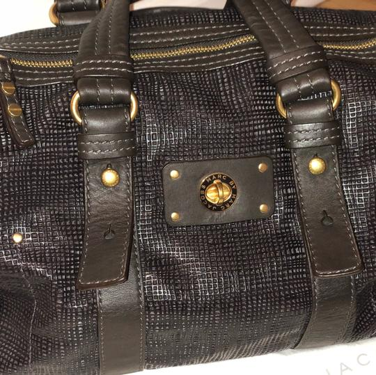 Marc by Marc Jacobs Satchel in Chocolate Brown Image 1