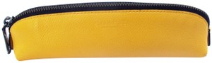 Coach Pencil Case in Refined Pebbled Leather 63390