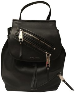 Marc Jacobs Silver Hardware Leather Backpack