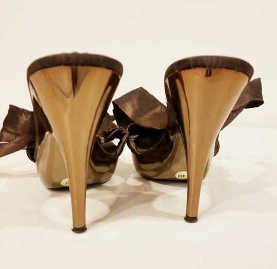 Bluzi Made In Italy Embellished Bronze Copper Sandals Image 4