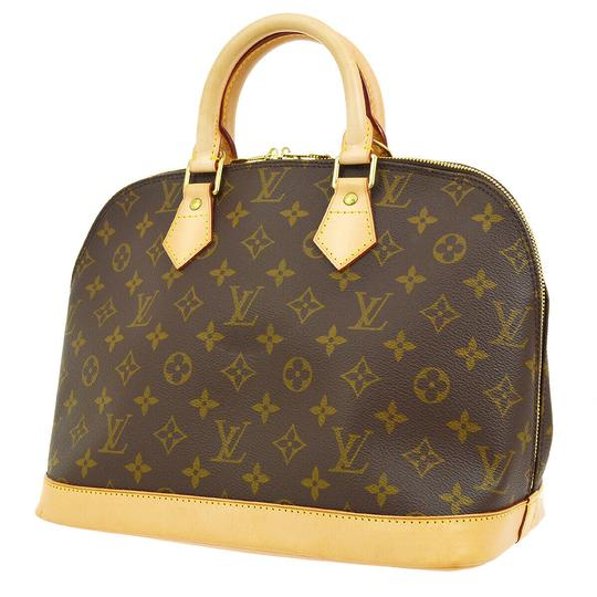 Preload https://img-static.tradesy.com/item/23125965/louis-vuitton-alma-like-new-mm-monogram-brown-canvas-satchel-0-9-540-540.jpg