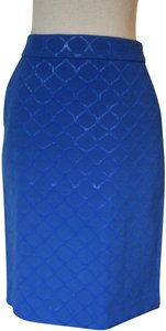 C. Wonder Pencil Office Skirt Blue
