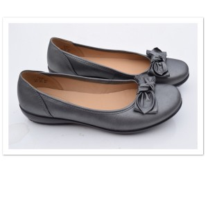 Hotter pewter Flats