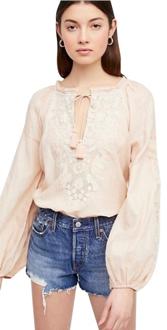 Preload https://img-static.tradesy.com/item/23126166/free-people-cream-white-lacey-peasant-blouse-size-6-s-0-1-650-650.jpg