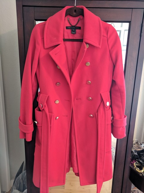 Preload https://img-static.tradesy.com/item/23126174/marc-by-marc-jacobs-coral-coat-size-0-xs-0-0-650-650.jpg