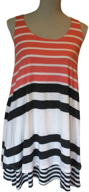 Preload https://img-static.tradesy.com/item/23126198/anthropologie-pink-grey-and-white-stripe-knit-a-line-short-casual-dress-size-6-s-0-1-650-650.jpg