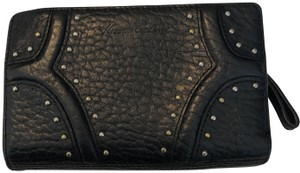 Kenneth Cole Kenneth Cole Wallet with Black Pebble Leather with Studs