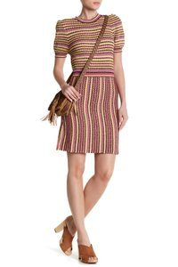 Free People short dress Pink Combo on Tradesy