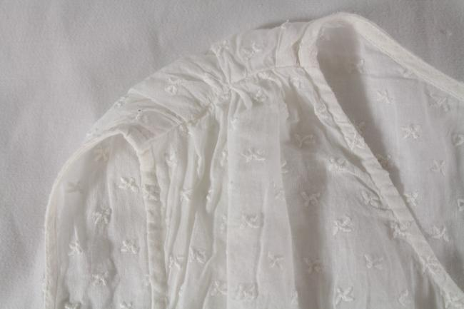 Sandro Embroidered Lace Top White Image 5