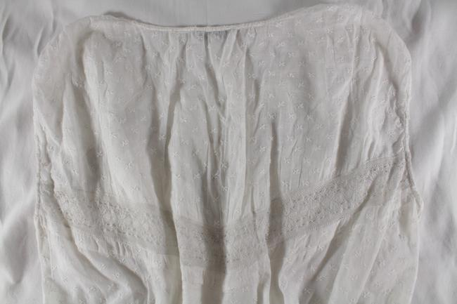 Sandro Embroidered Lace Top White Image 6