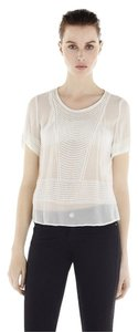 IRO Embroidered Top White