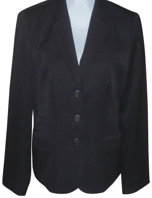 J.Crew Black Wool Jacket Size 14 (L) J.Crew Black Wool Jacket Size 14 (L) Image 1