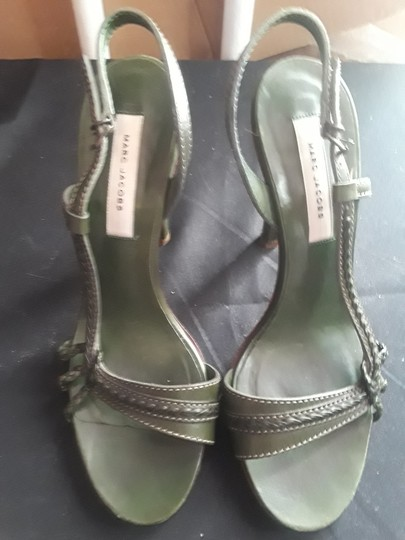 Marc by Marc Jacobs Olive green Pumps Image 7